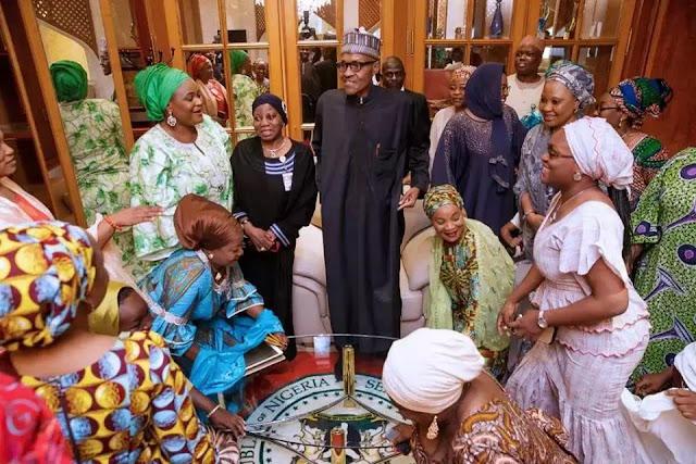Nigerians celebrating