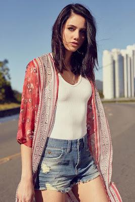 Moda Kimono Estampado