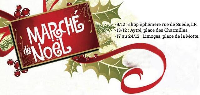 marchés de Noël créatrice La Rochelle
