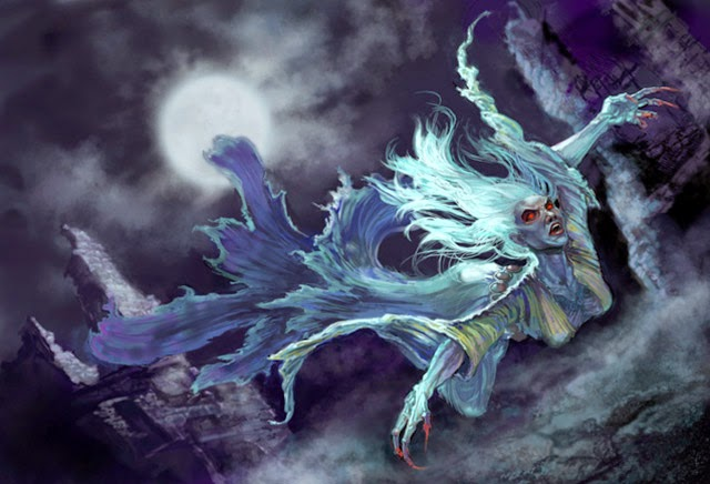 floclore, mitologia celta, zona 33, monstros, irlanda, banshee