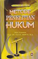 ajibayustore  Judul : METODE PENELITIAN HUKUM Pengarang : Drs. Beni Ahmad Saebani, M.Si. Penerbit : Pustaka Setia