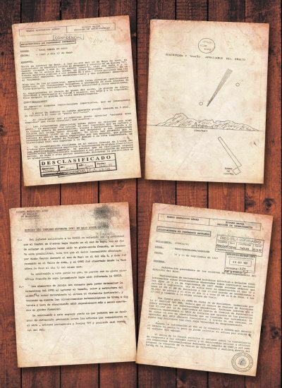 Army UFO Documents of Spain