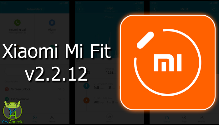 Xiaomi Mi Fit 2.2.12 APK Download
