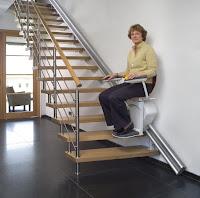 Krzesełko schodowe na schody proste
