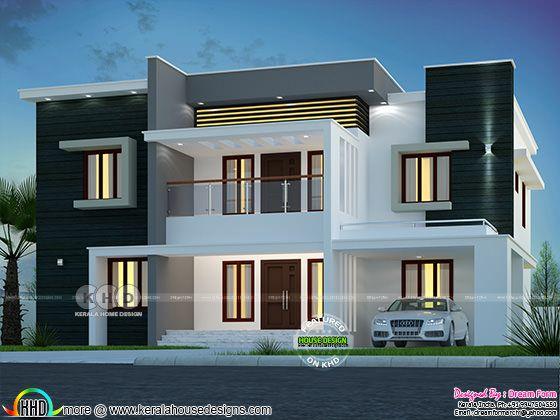 5 bedroom 2992 sq.ft modern home design