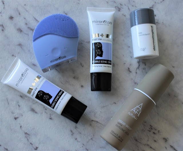 Luxe Skincare Cleansers, Mirenesse Pebblesonic Day Cleanser, Alpha H, Dermalogica