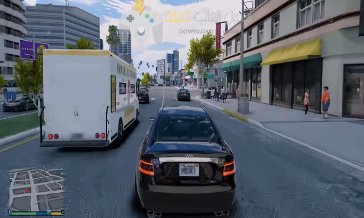 تحميل لعبة جاتا 5 GTA للكمبيوتر