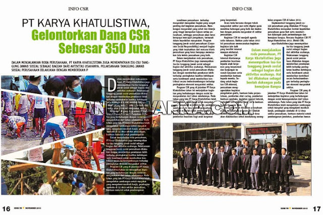 Jasa Desain Layout Majalah Internal Perusahaan