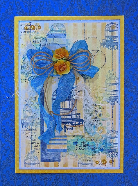 Genevieve Card by Megan Gourlay using the Genevieve Collection from BoBunny