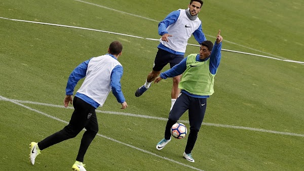 Málaga, entrenamiento a las 10:30 horas y rueda de prensa de Míchel