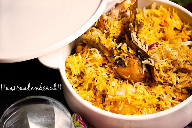 chicken biryani recipe easy and simple kolkata style