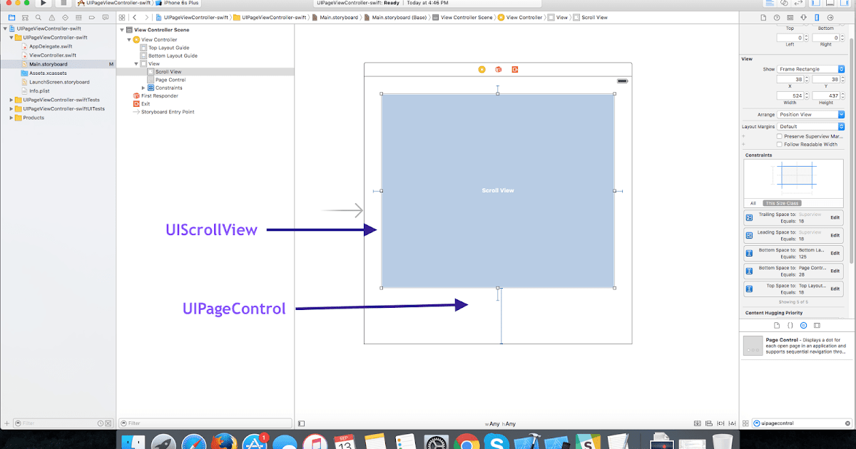 Scrollview Scroll To Position Swift