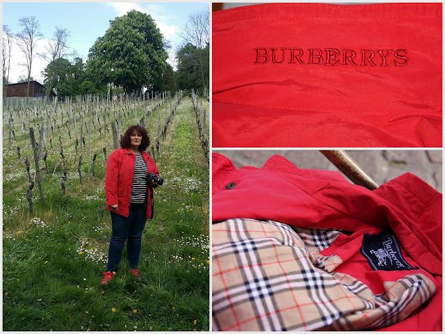 Burberrys Vintage Jacke, ue 50 Mode Blog, Ü40 Fashion,