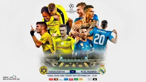 Borussia Dortmund x Real Madrid (26/09/2017) - Champions League - horário e TV