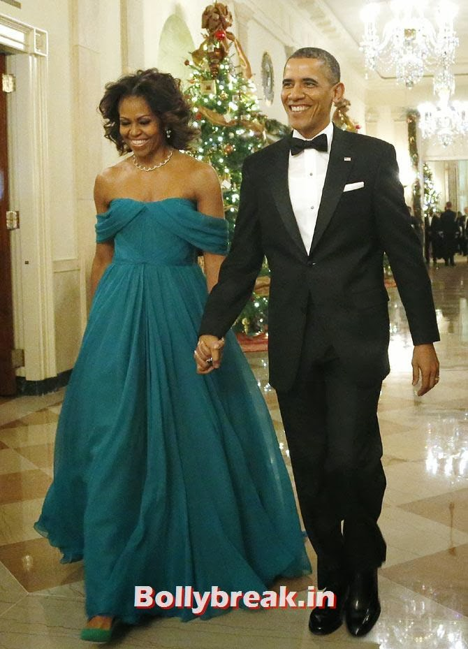 Michelle Obama and Barack Obama, The most stylish couples of 2013