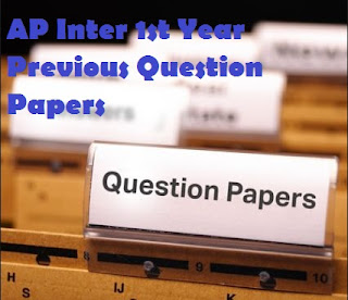 AP Inter 1st Year Previous Question Papers