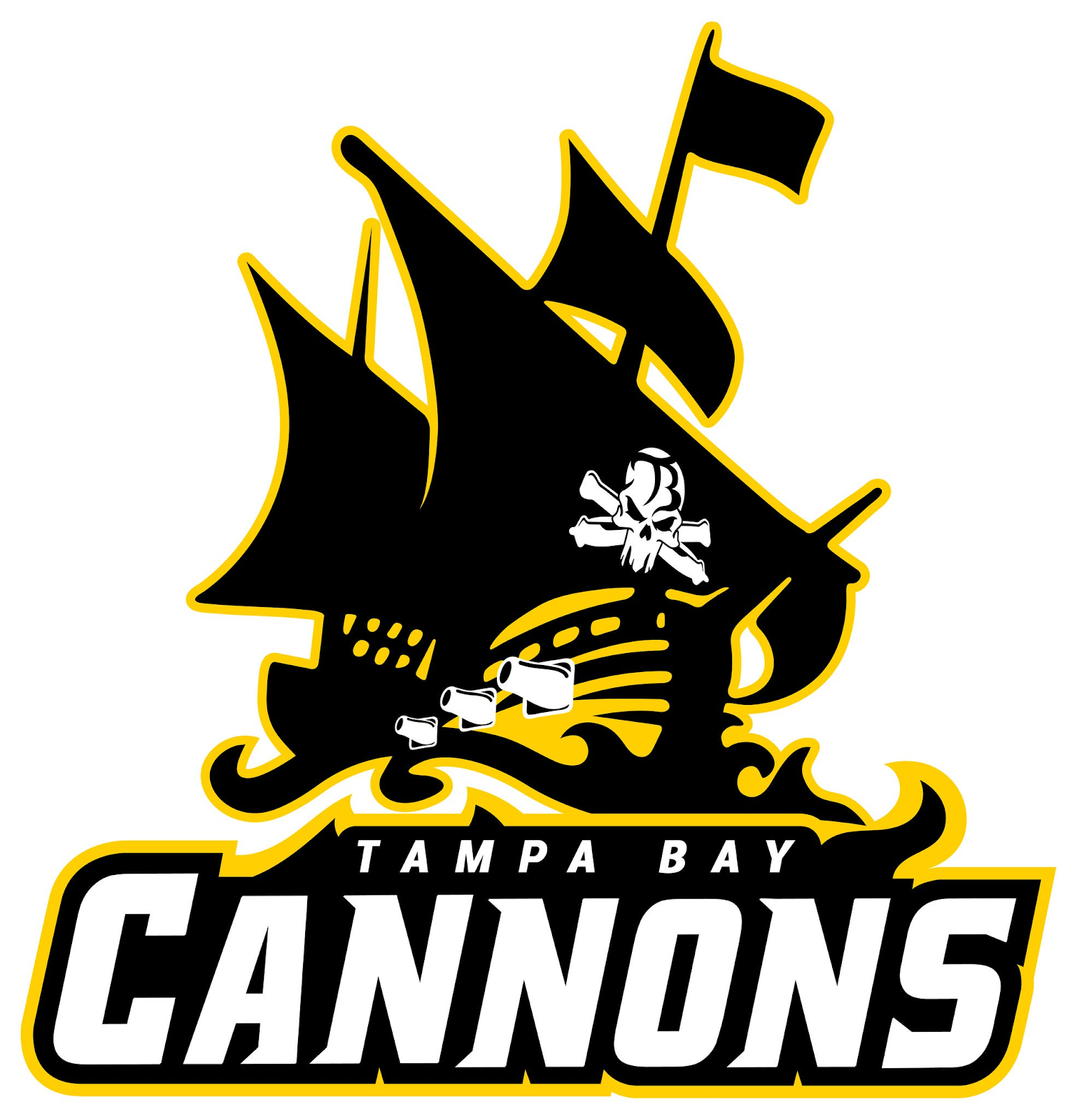 Sludge Output Tampa Bay Cannons AUDL Update Logo