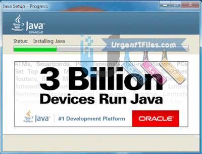 Java Runtime Environment JRE Screenshot