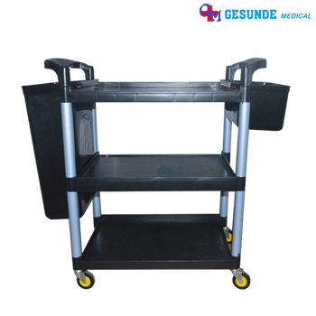 Troli Makanan 3 Rak (Food Trolley 3 Rack)