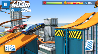 Hot Wheels Race Off Mod Apk Terbaru Unlimited Money