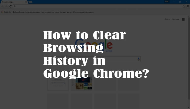 How to Clear Browsing History in Google Chrome?
