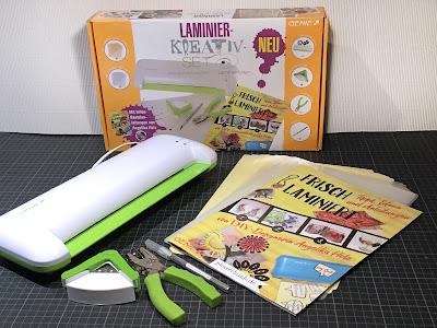 """Laminier-Kreativset mit Broschüre """"Frisch Laminiert"""""""