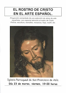 4 de abril de 2019: Charla sobre el rostro de Cristo en el arte español