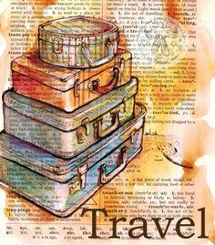 Poster cu citat Travel pentru marturii botez