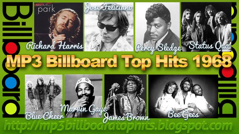 Mp3 BILLBOARD 1968billboard Top 100 Hitstop Billboard Hits