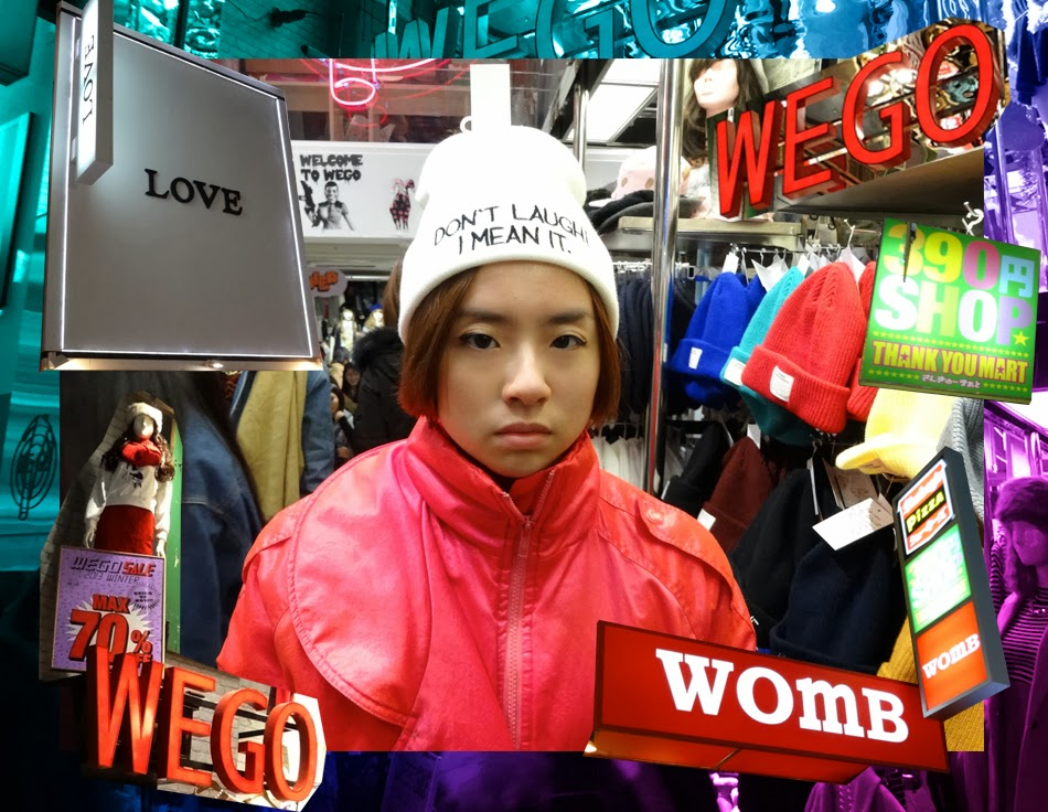 WEGO store in Shinsaibashi, Osaka