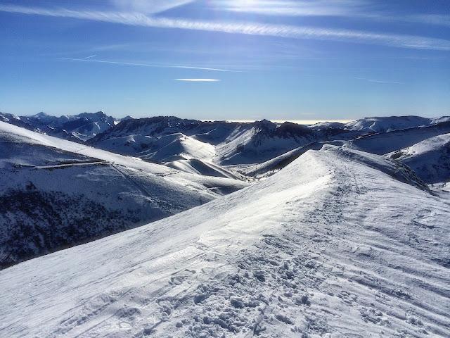 Practicar más ski de travesía