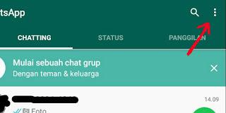 Cara agar kiriman foto dan video ke WhatsApp tidak tersimpan otomatis di memori ponse