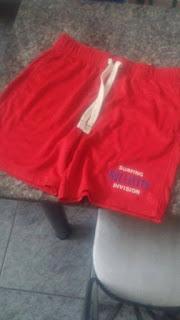 Bermuda Hollister Vermelha