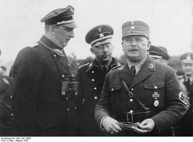 Reinhard Heydrich worldwartwo.filminspector.com Ernst Röhm