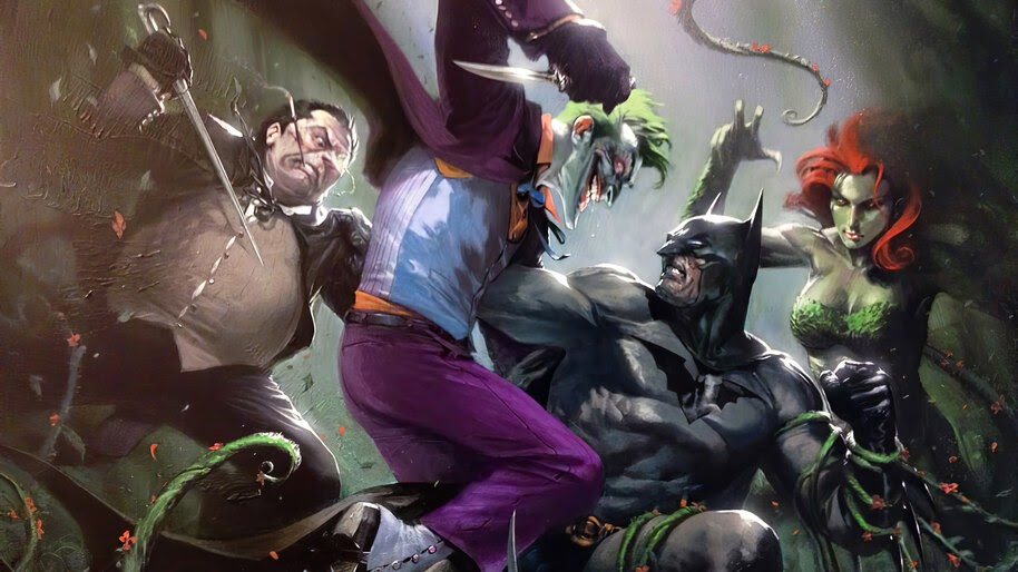 Joker vs DC, Supervillain, Joker, Penguin, Poison Ivy, 4K, #6.1206