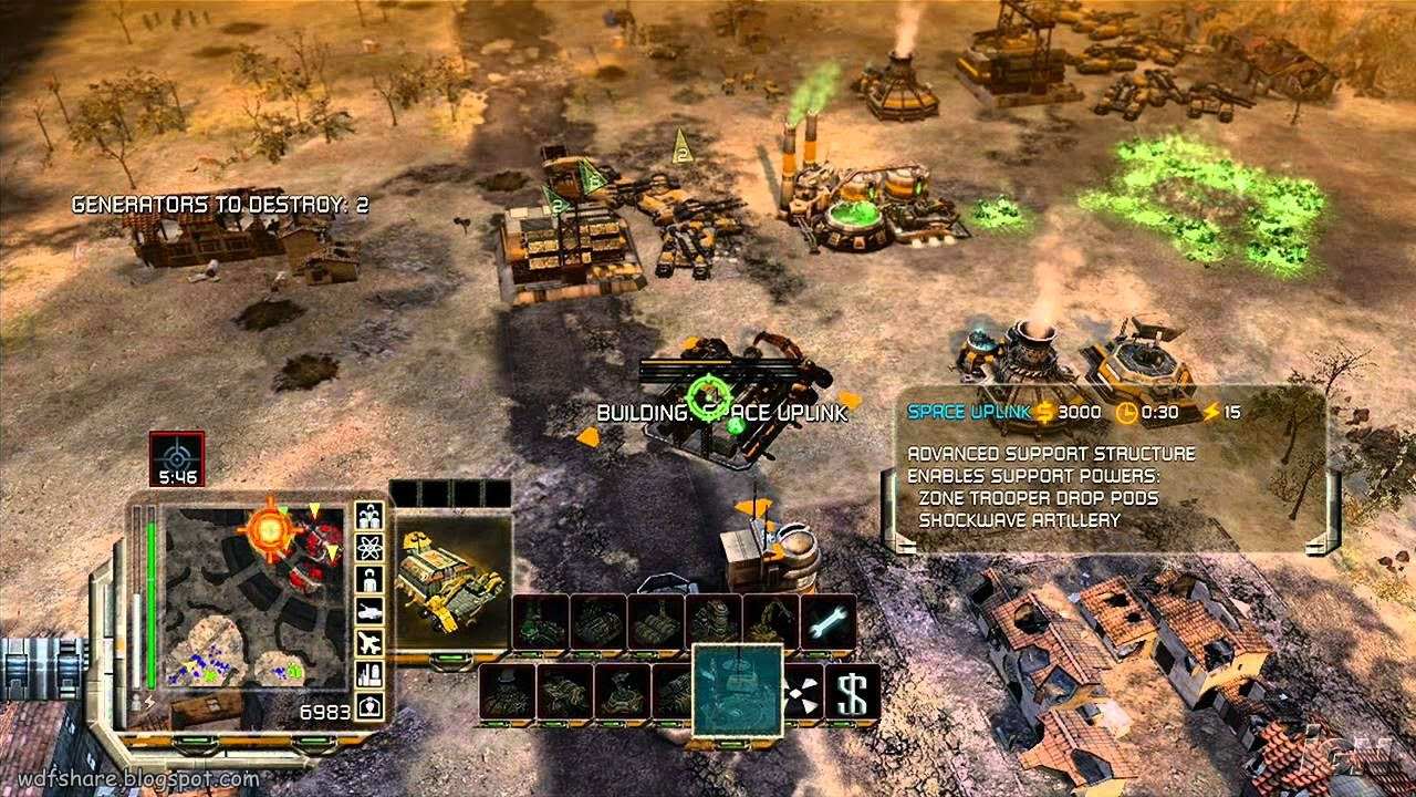 Command & Conquer 3 Tiberium Wars Highly compressed