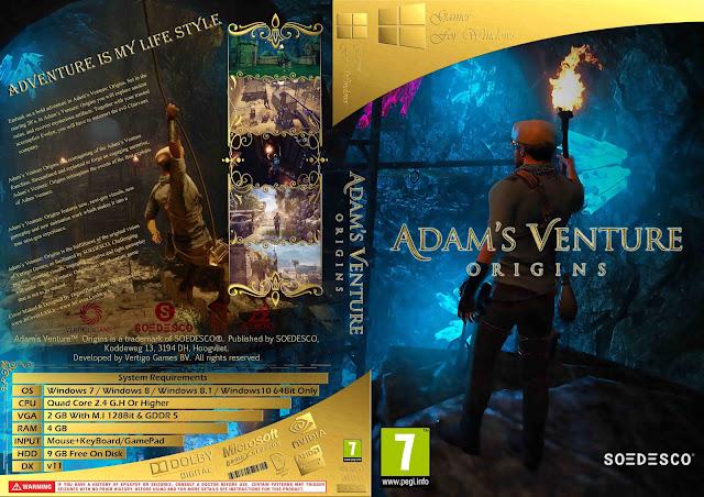 Capa Adams Venture Origins PC