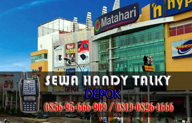 Pusat Sewa HT Depok Pusat Rental Handy Talky Area Depok