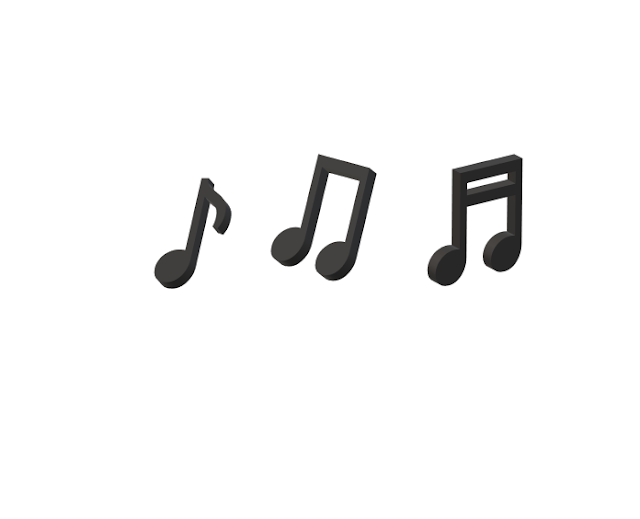 Picture of some musical notes