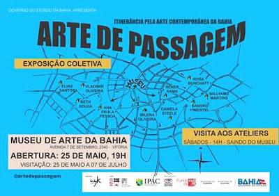 Resultado de imagem para museu de arte da bahia - Arte de Passagem.