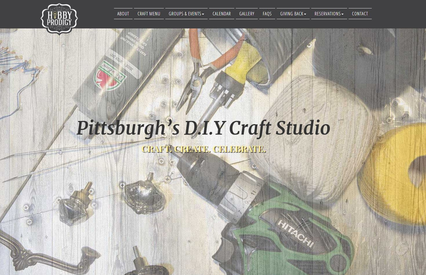 Dds web design hobby prodigy pittsburghs diy craft studio come on in and celebrate your inner prodigy with a diy craft handmadewithlove you can dream it up find your inspiration or chose from our library solutioingenieria Gallery