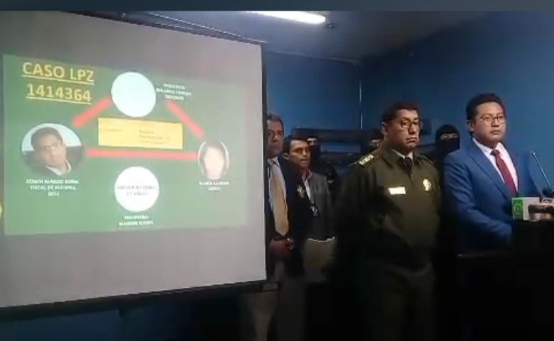 Quiroga presentó un organigrama con el fiscal Blanco incluido / MINISTERIO DE GOBIERNO