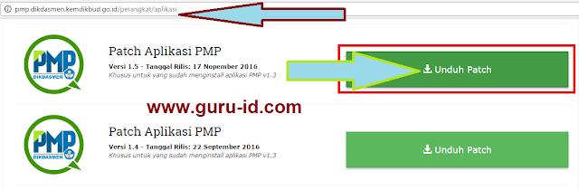 gambar Unduh Patch Aplikasi PMP Versi 1.5