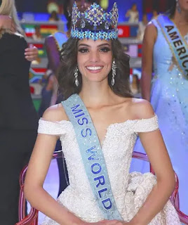 Miss World 2018 Winner, Vanessa Ponce de Leon, Miss Mexico 2018, Vanessa Ponce De Leon From Mexico Win Miss World 2018, Miss World and Miss Universe 2018, Pertandingan Ratu Cantik, Ratu Cantik Dunia,