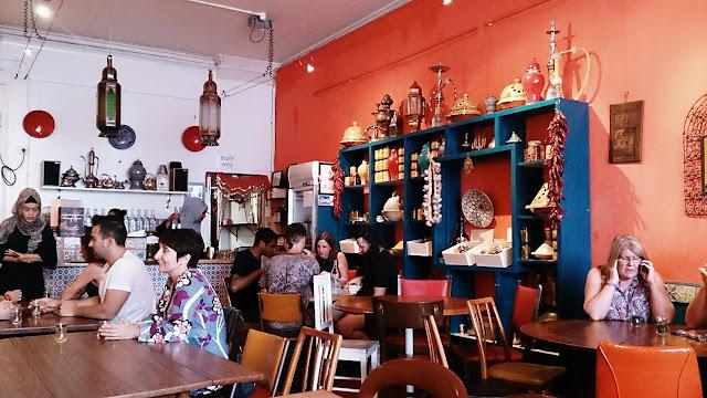 Moroccan Soup Bar, vegetarian