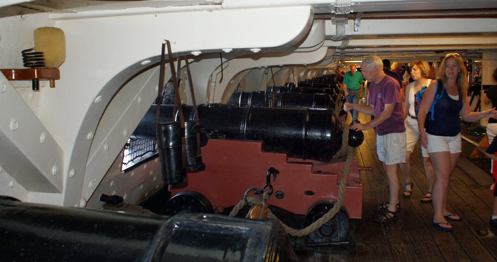 Planes, Trains, and Sailing Ships: November 2013 Uss Constitution Pictures Of Deck