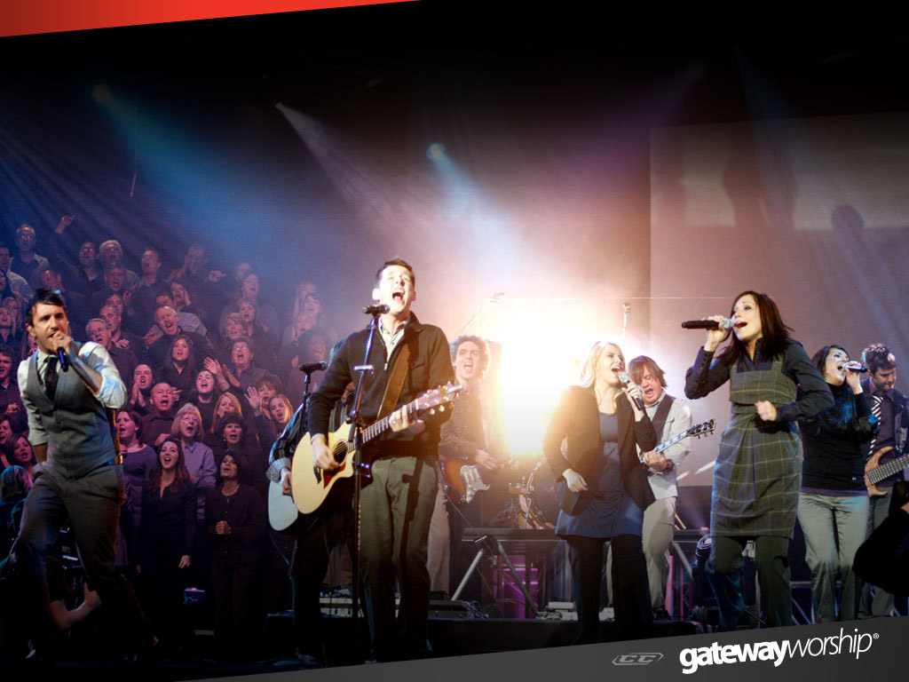 Gateway Worship - first 10 years 2013 live concert on stage