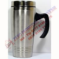 Souvenir Mug tumbler stainless 3 garis