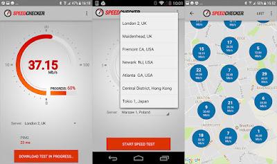 تطبيق Internet Speed Test للأندرويد, تطبيق Internet Speed Test مدفوع للأندرويد