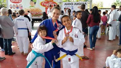 Atletas da Associação Cajatiense  de Judô se destacam em Campeonato regional de judô e Torneio Adeju.